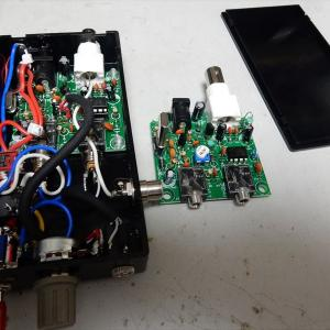 7MHz QRP CWトランシーバーキット2台目