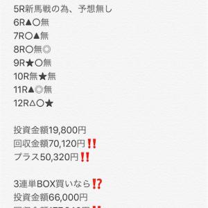 【中央競馬無料予想‼️】昨日は札幌で10万円ほど当ててます‼️