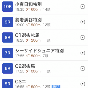 【船橋競馬無料予想】イベント会社勤務