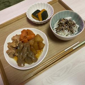 夕食!煮物にしました