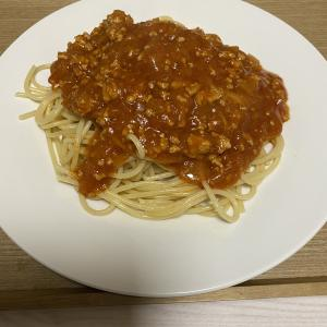 ミートソース スパゲティ