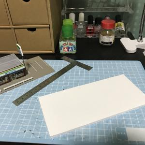 Nゲージ コンビニの電飾化とジオラマ制作5
