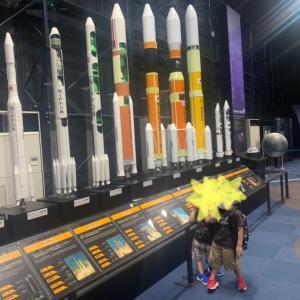 旅行1日目 宇宙センター