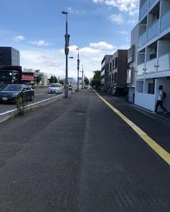 25日目、創成川通を札幌駅、大通、狸小路、ススキノまで