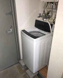 87日目、一人暮らし全自動洗濯機 [洗濯5.5kg /簡易乾燥 ]