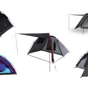 ワンタッチテントの選び方とおすすめ5選!設営撤収簡単でキャンプやツーリングに!