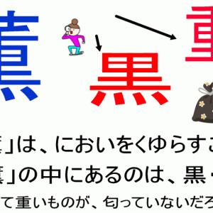 名前に使いたくない漢字「薫」の意味