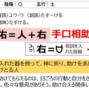 名前に使いたい漢字「佑」の意味