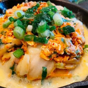 【オートミール】キムチーズチャーハンが食べたいダイエット中の皆様へ【キムチ・ツナ缶】