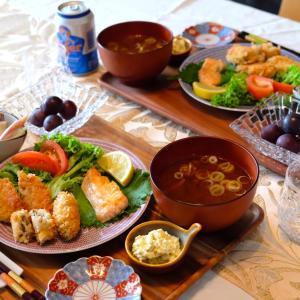 激ウマ牡蠣フライと大トロサーモンベリー