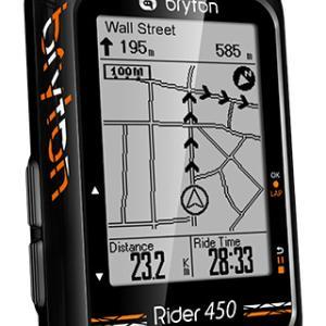 【Bryton】ワールドツアーチームも使用するGPSサイコン『Rider450』