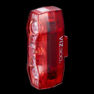 【セーフティライト】ワイドで大光量、存在を強烈にアピール!『CAT EYE ViZ300』