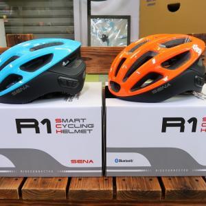 【入荷しました!】インターコム&ヘッドセット機能搭載 スマートヘルメット『SENA R1』