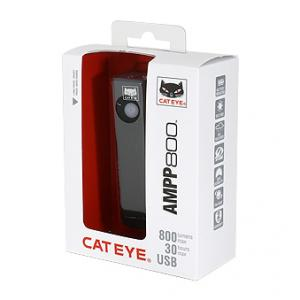 【CATEYE】約800ルーメンのバッテリー一体充電式ライト『AMPP800』