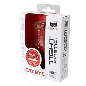 【CATEYE】加速度センサー内蔵で減速を知らせるセーフティライト『TIGHT KINETIC』