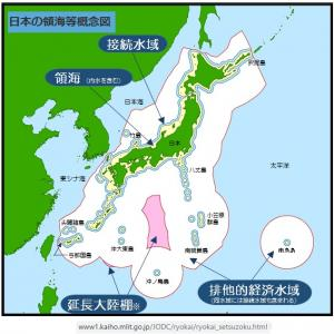 中華人民共和国が侵犯する我が日本国の領海・領土