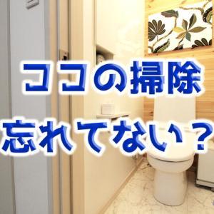 【トイレ掃除】この3カ所、見落としていませんか??
