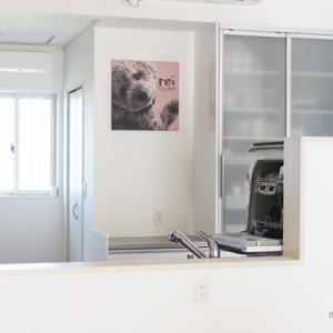 かわいすぎる愛犬の【アートパネル】主役級サイズで作ってもらいました!!