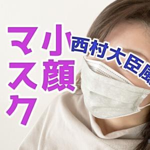 不織布マスクを【小顔マスク】に簡単アレンジ!!