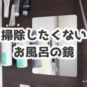 お風呂の鏡の掃除方法をご紹介したこともありますが…汚い鏡は捨てちゃえば?と、今は思う。