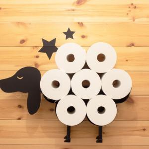 【トイレ&洗面所収納】最長トイレットペーパーは、1箱24ロールなので収納場所も必要です[PR含]