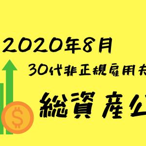 【2020年8月】30代非正規雇用夫婦の総資産