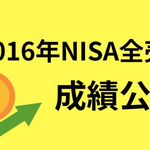 2016年NISAの金融商品を全売却!その成績は!?