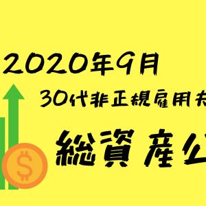 【2020年9月】30代非正規雇用夫婦の総資産