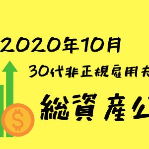 【2020年10月】30代非正規雇用夫婦の総資産