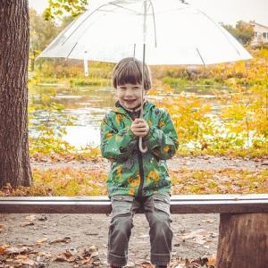 雨の日は楽しい!