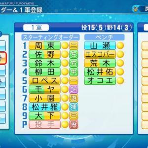 【パワプロ2020】安価で指定された選手でチーム組んで日本一になるまでペナント回す #27