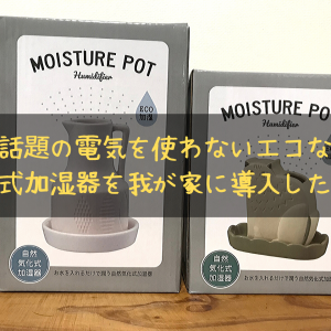 【検証済】電気代0円!エコな自然気化式加湿器で乾燥対策しよう