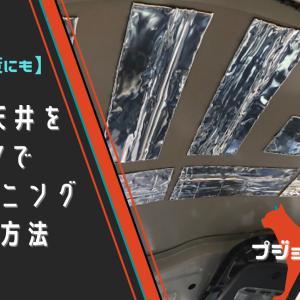 【雨音対策に】プジョーRCZの天井をDIYでデッドニングする方法