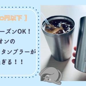【千円以下】オールシーズン使える!イオンのタンブラーが超便利