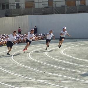 小学校最期の運動会