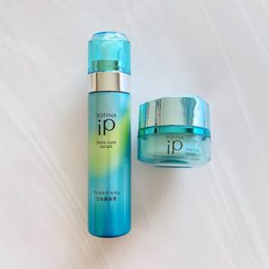 忙しい大人女子の毛穴とうるおい肌のために●SOFINA iP 洗顔後2つの美容液でOK