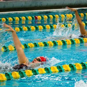 【ドリル】背泳ぎプルの左右のズレをなくす!!
