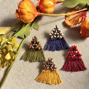 summonjewelry の秋にお勧めフリンジアクセサリーを紹介します!