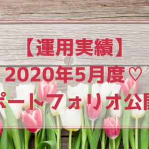 2020年5月度運用実績とポートフォリオ公開