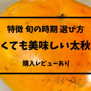 青いままでも美味しい太秋柿の特徴や旬の時期、選び方まで教えます。