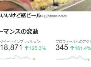 ブログの宣伝にツイッターを利用し、つぶやき続けた結果はつまらなかった。