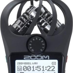 【録音機材】ZOOMのレコーダーH1nを購入。MOGAMI 2534 XLRマイクケーブルとポップガードだけのつもりがね。