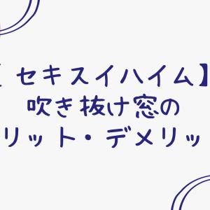 【セキスイハイム】吹き抜け・勾配天井の窓のメリット・デメリット