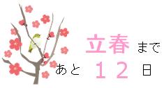 1-22_春待ちのカウントダウン🌸