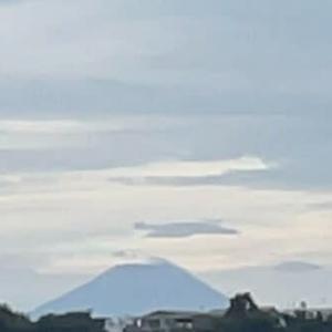7-6_久しぶりの富士山🗻 遠望して思いする所縁の地