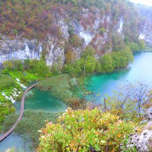 プリトヴィッチェ湖群国立公園(クロアチア)