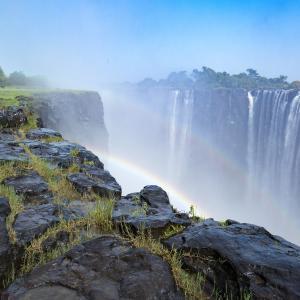 モシ・オ・トゥニャ/ヴィクトリアの滝(ザンビア・ジンバブエ)