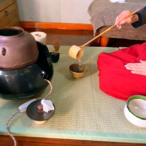 茶道と母娘ランチ