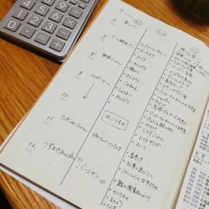 【節約献立の工夫】献立ノートと食材別予算