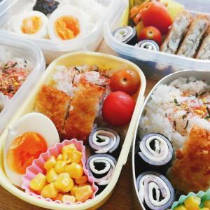 【家族4人弁当】業務スーパー食材で10分弁当